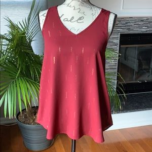 Papermoon by Stitch Fix red tank